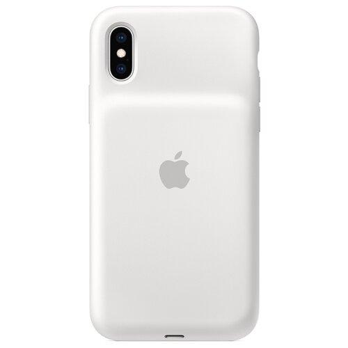 Чехол-аккумулятор Apple Smart Battery Case для Apple iPhone XS белыйЧехлы-аккумуляторы<br>