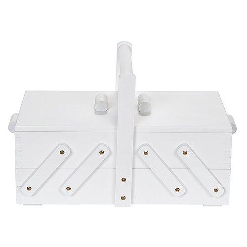 набор для рукоделия совушка цвет белый 12 см Шкатулка Prym для рукоделия 36х19х22 см белый