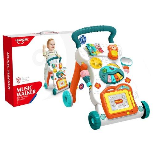 Купить Развивающий центр Haunger Ходунки-каталка Любознайка HE0819, Huanger, Развивающие игрушки