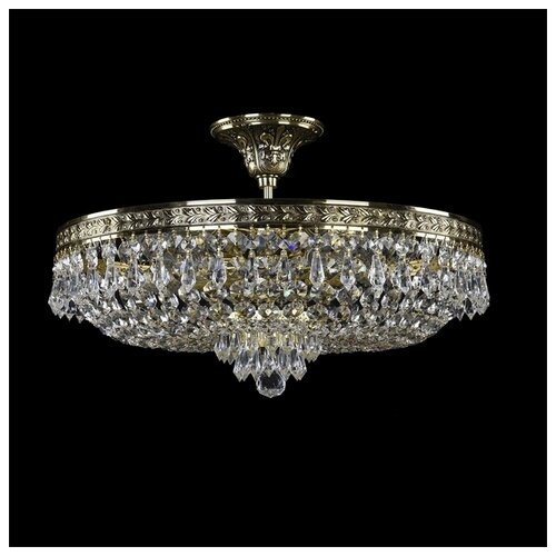 Фото - Люстра Bohemia Ivele Crystal 1927 19271/45IV GB, E14, 200 Вт bohemia ivele crystal 1903 19031 45iv gb