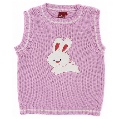 Жилет Reike размер 80, розовый жилет reike knit bb 17 80 48 24
