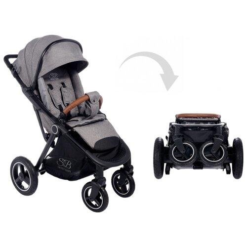 Прогулочная коляска SWEET BABY Suburban Compatto Air grey прогулочная коляска sweet baby suburban compatto black