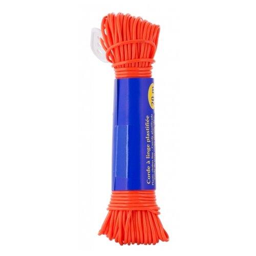 ROZENBAL бельевой шнур пластиковый ЭКО 20 м оранжевыйАксессуары для сушки<br>
