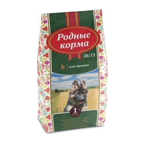 Сухой корм для щенков Родные корма 16.38 кг
