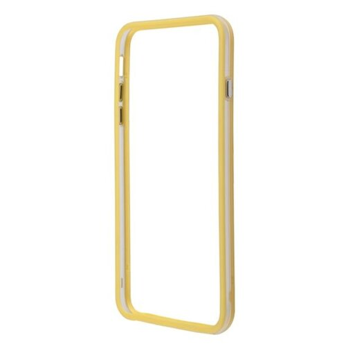 цена на Чехол Liberty Project Bumpers для Apple iPhone 6 Plus/iPhone 6s Plus желтый/прозрачный