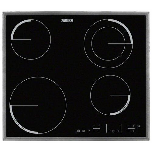 Электрическая варочная панель Zanussi ZEN 6641 XBA варочная панель zanussi zgg 65413 sa