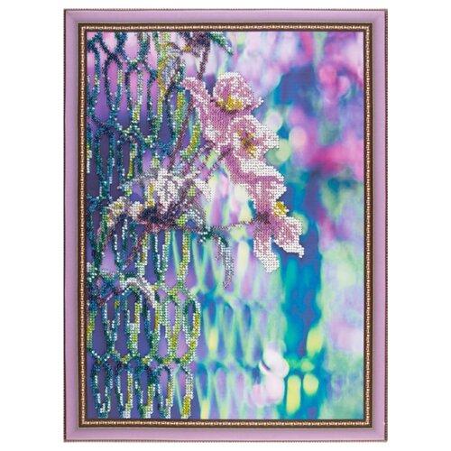 Color Kit Набор для вышивания бисером Нежные цветы, Наборы для вышивания  - купить со скидкой