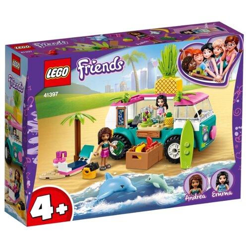 Купить Конструктор LEGO Friends 41397 Фургон-бар для приготовления сока, Конструкторы