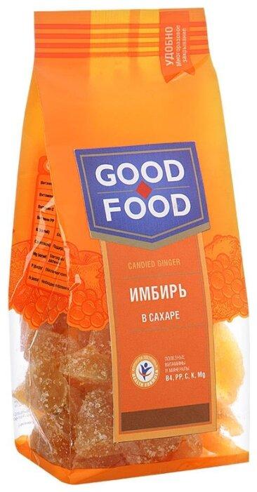 Имбирь Good Food сушеный в сахаре, 130г