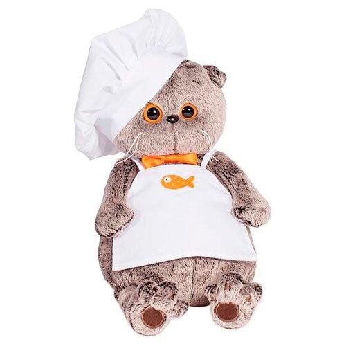 Купить Мягкая игрушка Basik&Co Кот Басик шеф-повар 25 см, Мягкие игрушки