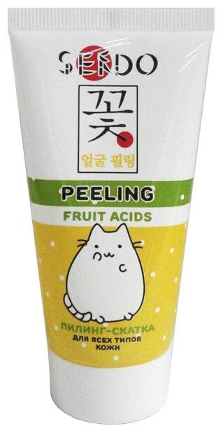 Sendo пилинг скатка для лица Peeling Fruit