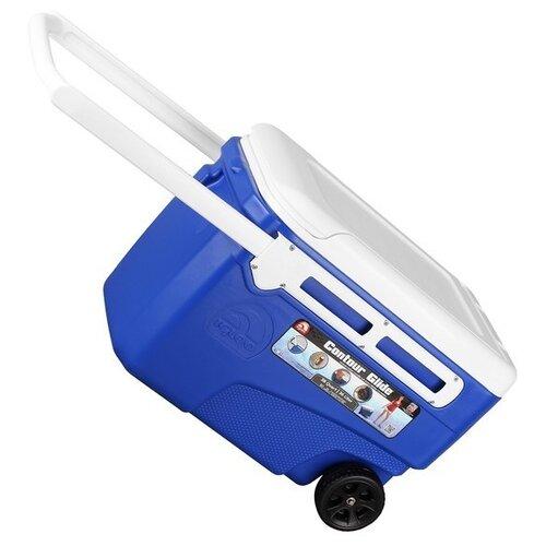 Термоэлектрический автохолодильник Igloo Contour 38 QT Glide blue (45969)