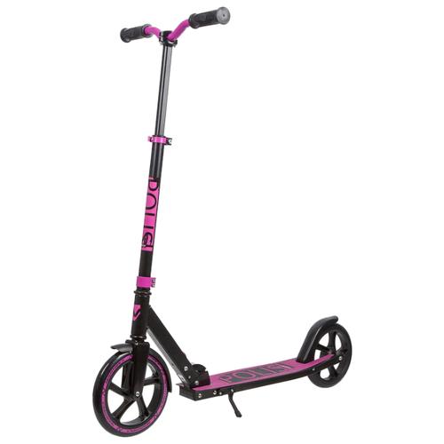 Фото - Детский городской самокат Novatrack Polis 230 Pro 2020, фиолетовый металлик самокат внедорожный novatrack stamp n1 крылья дропаут max 100кг розовый