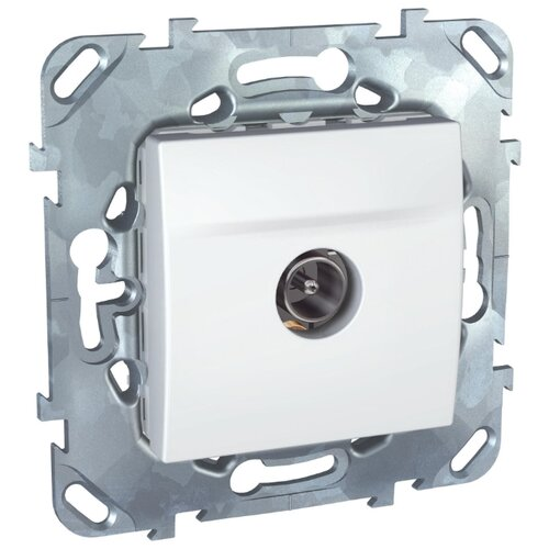 Антенное гнездо Schneider ElectricMGU5.464.18ZD UNICA, белый