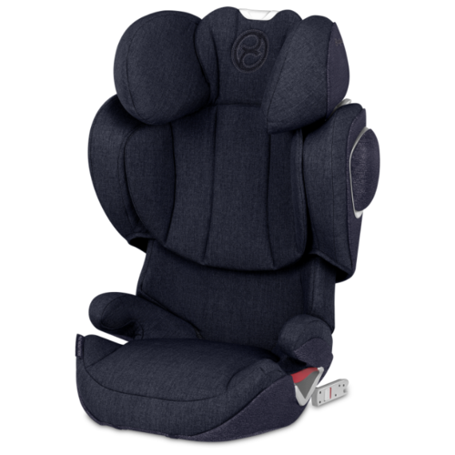 Автокресло группа 2/3 (15-36 кг) Cybex Solution Z-Fix Plus, Midnight blue renolux автокресло serenity midnight