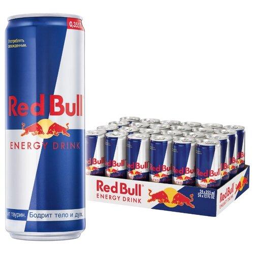 Энергетический напиток Red Bull, 0.355 л, 24 шт.