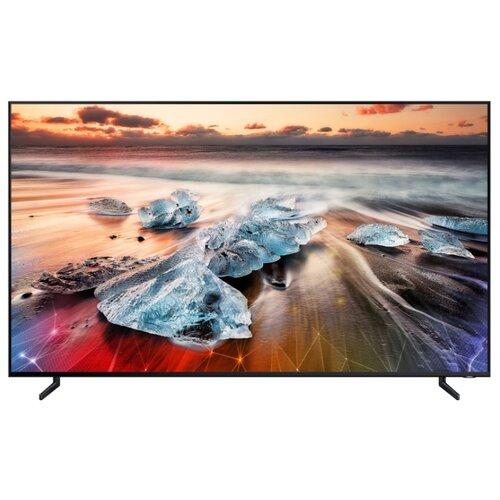 Фото - Телевизор QLED Samsung QE82Q900RBU 82 (2019) черный телевизор qled samsung qe49q77rau 49 2019 черный графит