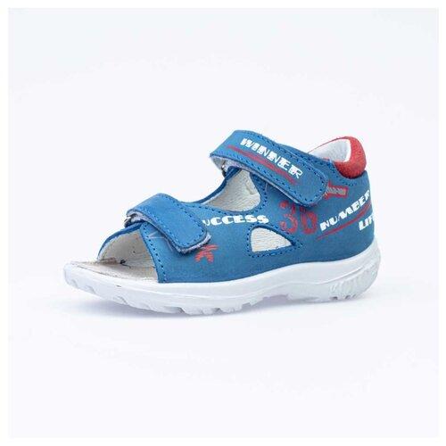Фото - Сандалии КОТОФЕЙ размер 23, 22 синий/красный сандалии regatta размер 33 синий красный