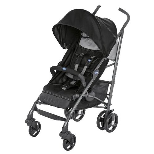 Прогулочная коляска Chicco Lite Way3 Top, jet black прогулочная коляска chicco lite way top aster