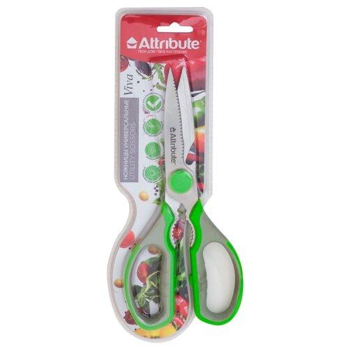 Ножницы Attribute Viva универсальные зеленый