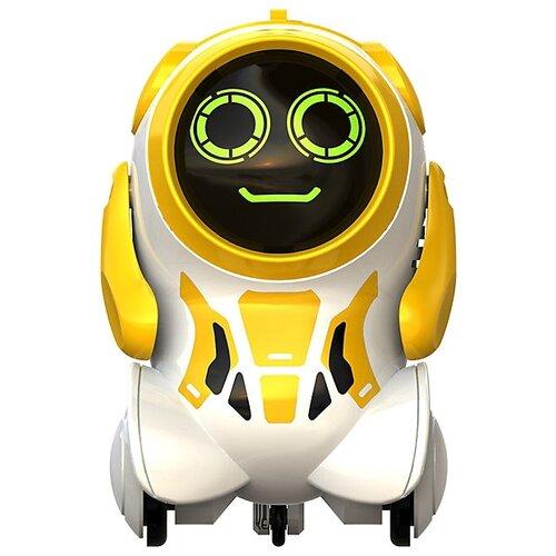 Интерактивная игрушка робот Silverlit Pokibot Круглый желтый интерактивная игрушка silverlit робот боевой дракон 88563