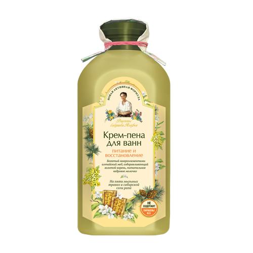 Купить Рецепты бабушки Агафьи Крем-пена для ванн Питание и Восстановление, 500 мл