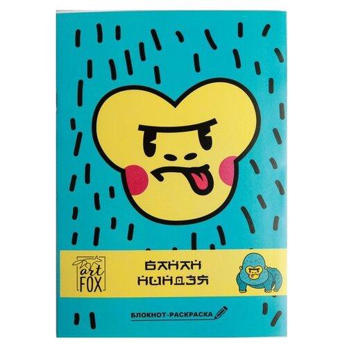 Купить Блокнот ArtFox Банан ниндзя, А6, 12 листов (4632281), Блокноты