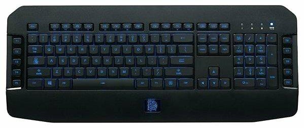 Клавиатура Tt eSPORTS by Thermaltake Challenger GO Black USB
