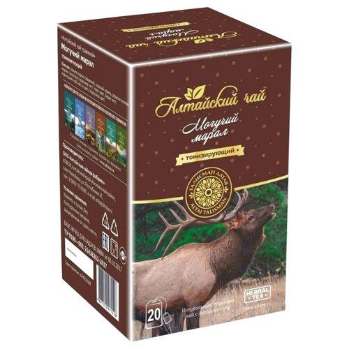 цена на Чай травяной Талисман Алтая Могучий марал в пакетиках , 20 шт.