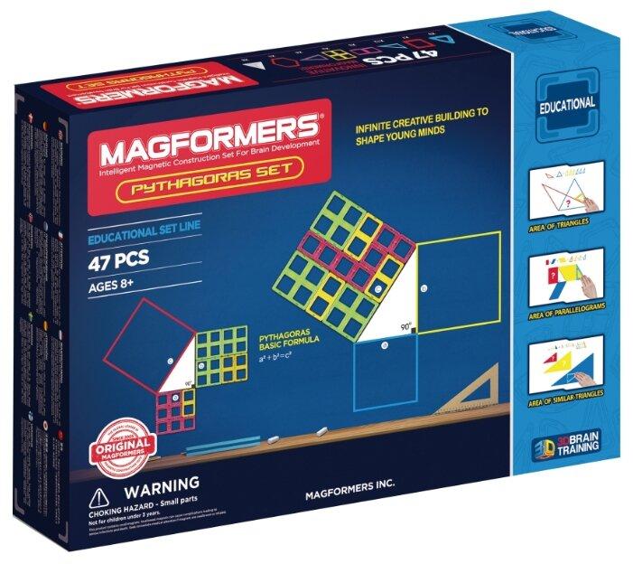 Магнитный конструктор Magformers Educational 711003 (63113)-47 Pythagoras Set