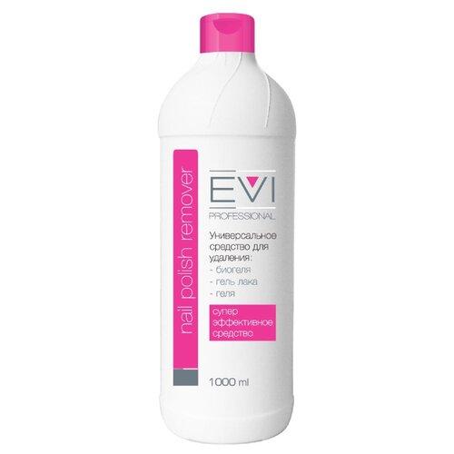EVI professional Жидкость для снятия биогеля, геля, гель-лака 1000 мл