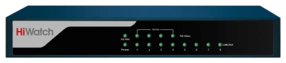 Коммутатор HiWatch DS-S804P