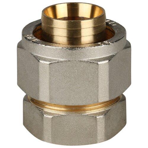 Переходник STOUT SFS-0002-000132 1x32 обжим – резьба 1 шт. переходник stout sfp 0002 000132 с внутренней резьбой 1х32 мм для металлопластиковых труб прессовой
