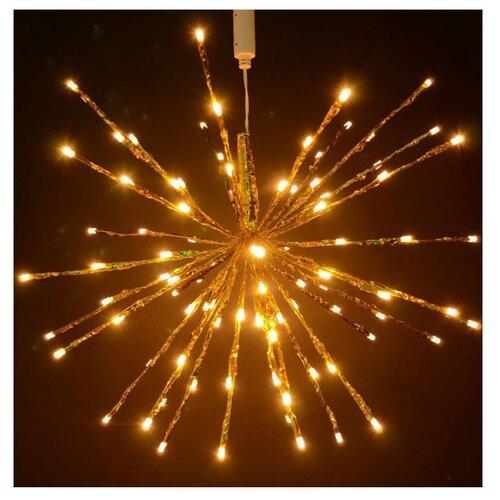 Гирлянда Rich LED Ежик-трансформер RL-TB45CF. 45 см, 96 ламп, теплый белый