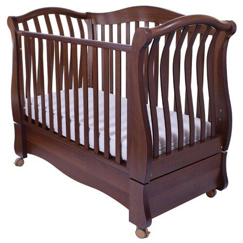 Купить Кроватка Feretti Royal FMS (качалка), продольный маятник noce, Кроватки