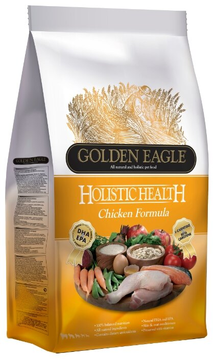 Корм для собак Golden Eagle Holistic Health Chicken Formula 26/15 (2 кг)