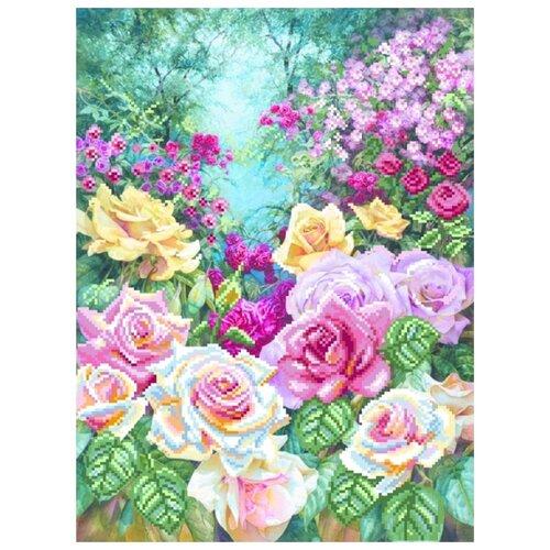 янтарная осень рисунок на шелке 37 49 37х49 29х39 матренин посад 4155 Розовая серенада Рисунок на шелке 37/49 37х49 (28х38) Матренин Посад 4180