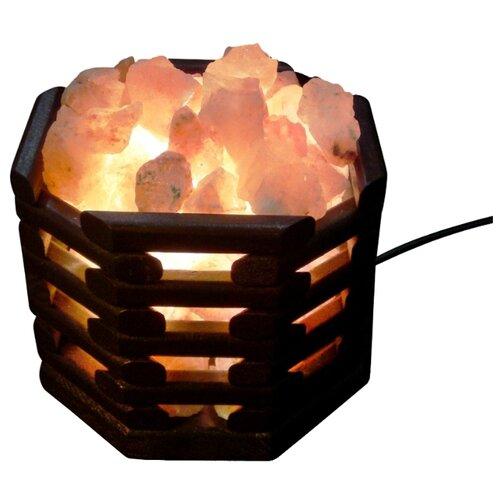 Солевая лампа Wonder Life Октагон темный wonder bear