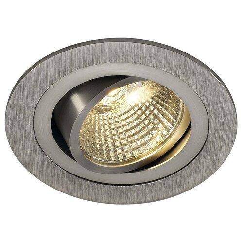 Встраиваемый светильник SLV 113906 slv потолочный светодиодный светильник slv senser square 162983