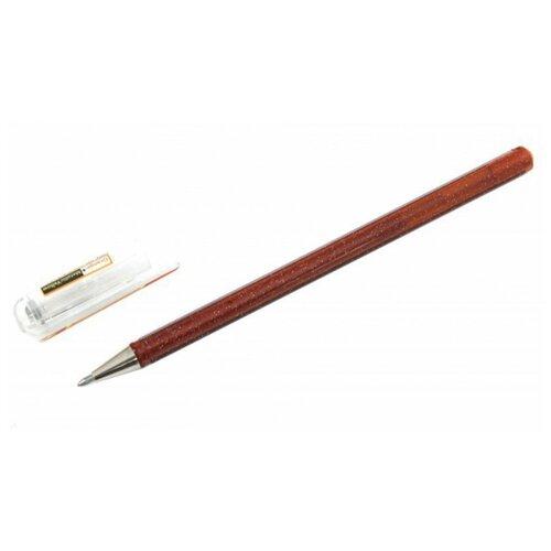Pentel гелевая ручка Hybrid Dual Metallic, 1.0 мм, оранжевый цвет чернил