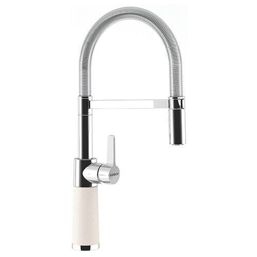 Смеситель для кухни (мойки) Schock SC-550 (хром/гранит) однорычажный поларис по цене 40 400