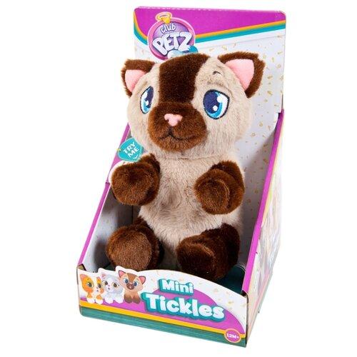Купить Интерактивная мягкая игрушка IMC Toys Mini Tickles Котенок бежево-коричневый, Роботы и трансформеры