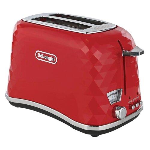 Фото - Тостер De'Longhi CTJ 2103.R Brillante, красный тостер delonghi ctz 2103 gy
