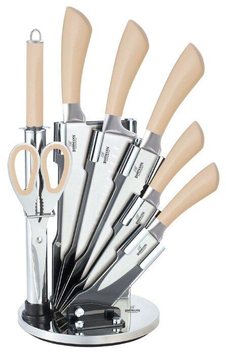 Набор ножей Bohman, 5067BH, бежевый, 8 предметов