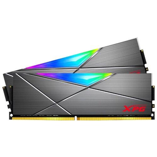 Оперативная память ADATA XPG Spectrix D50 DDR4 3200 (PC 25600) DIMM 288 pin, 8 ГБ 2 шт. 1.35 В, CL 16, AX4U320038G16A-DT50