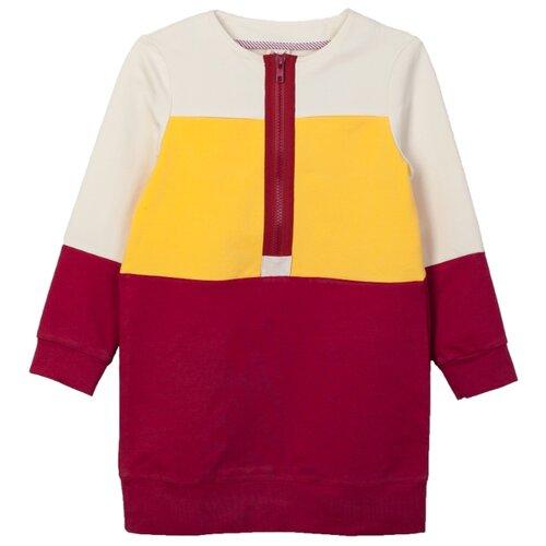 Купить Платье ЁМАЁ размер 128, желтый, Платья и сарафаны