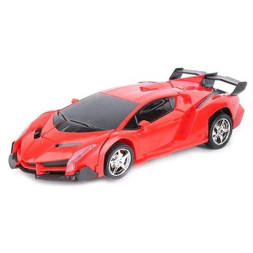 Купить Робот-трансформер Пламенный мотор Космобот Калисто 870461 красный, Роботы и трансформеры
