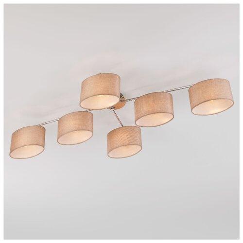 Люстра Eurosvet Elipse 60083/6 хром, E14, 240 Вт потолочный светильник евросвет elipse 60083 8 хром