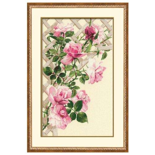 Риолис Набор для вышивания крестом Розовые розы 35 х 55 (898)Наборы для вышивания<br>