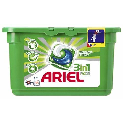 Капсулы Ariel Горный родник, контейнер, 12 шт цена 2017